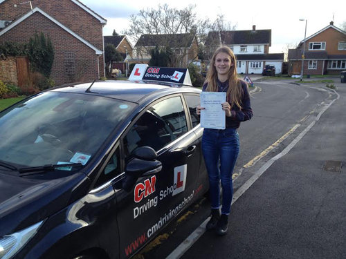 Passed with CM Driving School